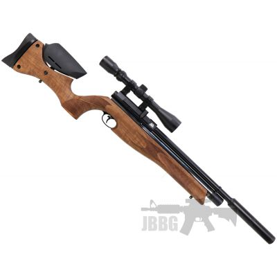 AirArms S510 Carbine Ultimate Sporter Ambi Walnut Stock PCP Air Rifle .177