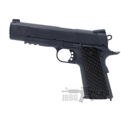 Swiss Arms SA 1911 Military Black Co2 Blowback 4.5 BB Air Pistol